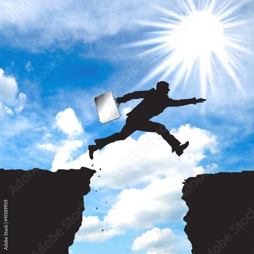 Fast Cliff Jump