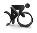 radrennen cycle racing symbol 3d