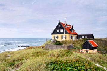 Haus auf Düne in Skagen, Dänemark - TLerch