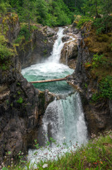 Little Qualicum Falls on Vancouver island.