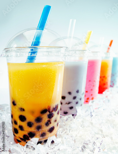Boba Tea Cocktails