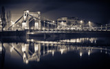 Fototapeta Fototapety z mostem - Grunwaldzki Bridge in Wroclaw © CCat82