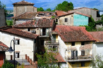 Ghost village (Tuscany)
