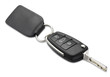 car key and fob shallow dof with clipping path