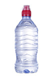 bottle of water with clipping path