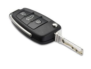 car key shallow dof with clipping path