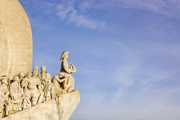 Monument to the discoveries in Lisboa, portugal