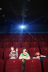 Pastime at the cinema
