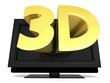 Detaily fotografie 3D television