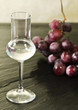 red grapes grappa