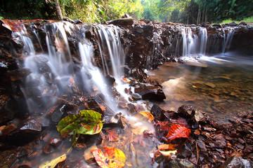 Waterfall Kaeng Krachan., in Phetchaburi, Thailand