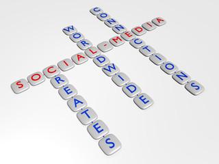Social Media - 3D