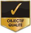 bouton objectif qualité