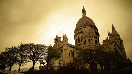 Sacre Coeure is the most popular cathedral in Paris