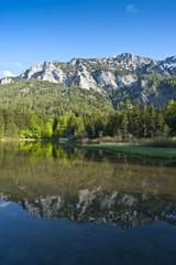 Alpine Lake in the springtime
