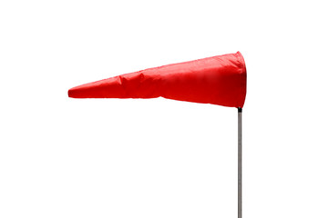 Isolated windsock