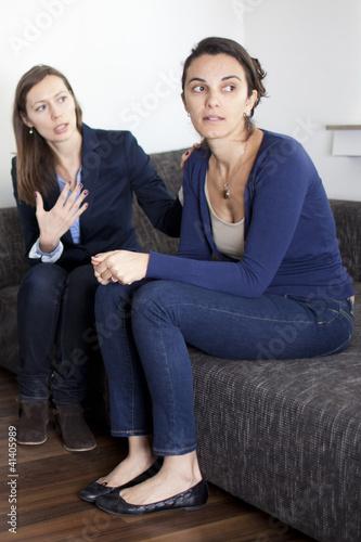 Streit unter Frauen