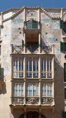 Jugendstilfassade, Palma de Mallorca