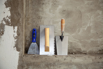 construction stainless steel trowel tools and spatula