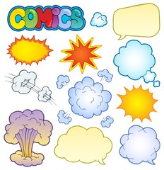 Comics elements collection 1