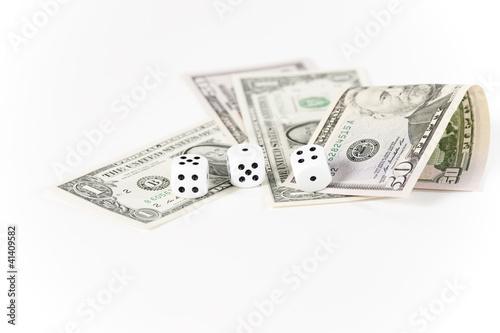 Dollar und Würfel
