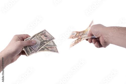 Dollar Euro Tausch