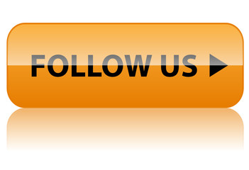 FOLLOW US Web Button (become a fan like social media marketing)