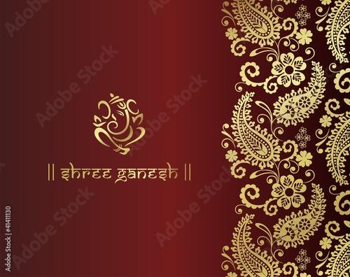 Hindu Wedding Banner Designs Hindu Wedding Card Design
