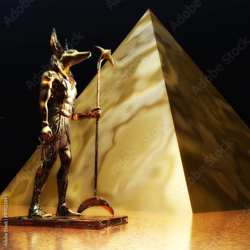 Fototapeten,agressivität,anubispavian,pyramiden,gott