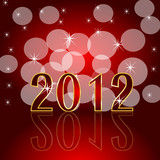New year eve greeting background poster