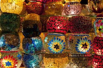 Traditional turkish lanterns