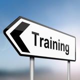 Fototapety Training concept.