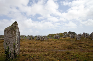 Carnac stones, France