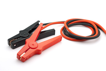 Red and Black Jumper cables