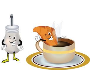 colazione croissant