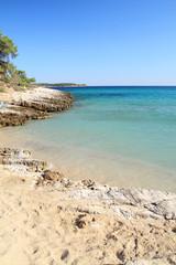 Psili Ammos beach , in Thasos island - Greece