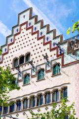facade of Casa Ametller in Barcelona