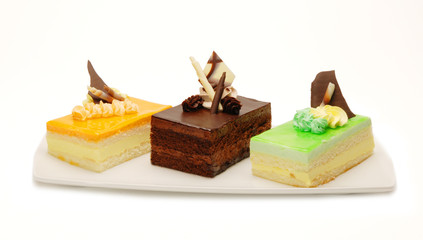 Assorted Mousse Desserts