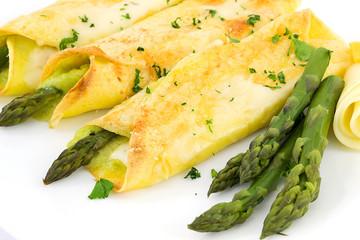 crespella agli asparagi