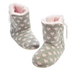 Home knitted ugg boots