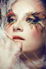 butterfly make up