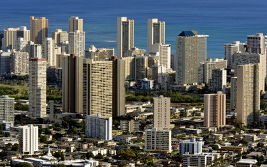 Buildings in Waikiki