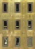 Exterior metal door poster