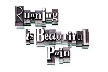 Running is Beautiful Pain