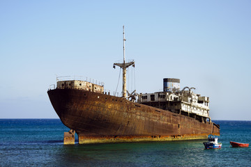 Shipwreck in Lanzarote