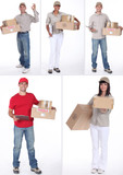 Delivery people