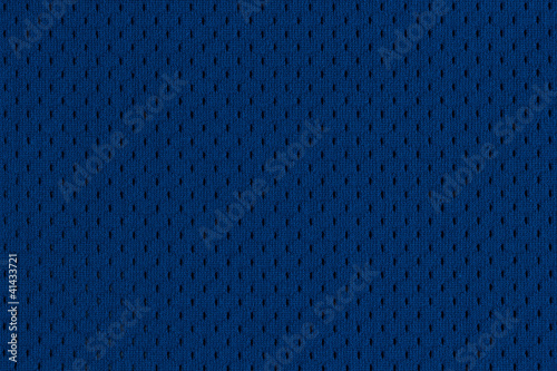 Blue Athletic Jersey texture - 41433721