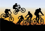 conquer mountain biking - 41434798