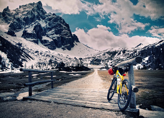 Escursione in montain bike