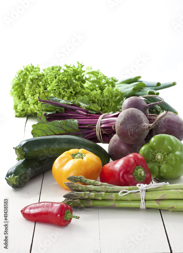 Fresh farmers market vegetables
